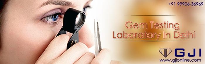 Gemstone testing laboratory in Delhi