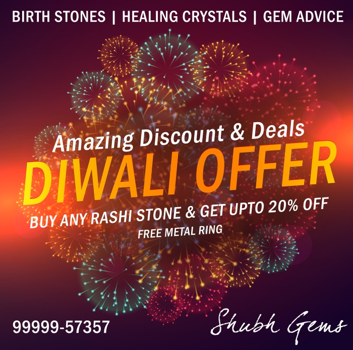 Diwali offer on all Precious Stone