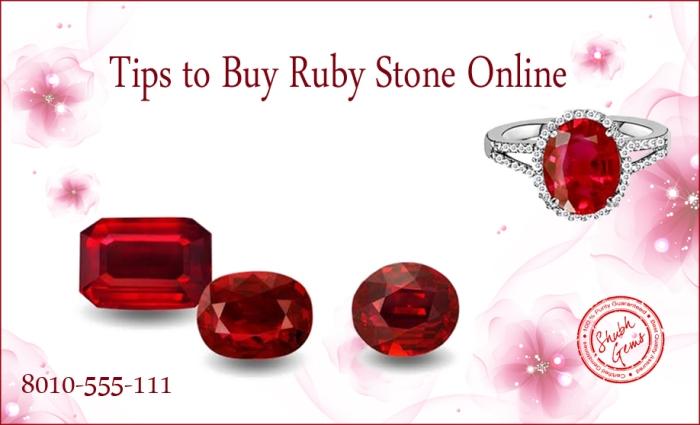 How to Buy Ruby gemstone online