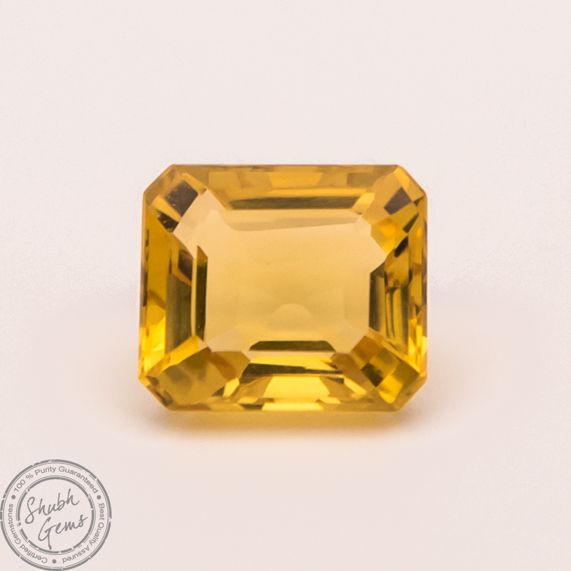 Online Yellow sapphire stone